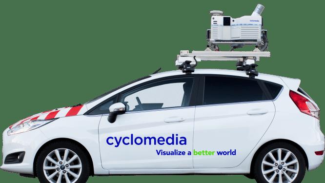 Cyclomedia brengt Molse straten in beeld met camerawagens