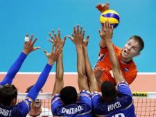 Volleyballers door op WK na gewonnen vijfsetter tegen Frankrijk