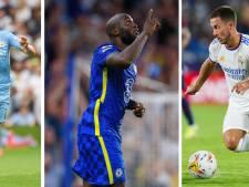 De Bruyne, Lukaku, Hazard... ces Diables Rouges qui rêvent d'enflammer la Ligue des Champions