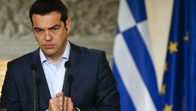 Grieks premier Alexis Tsipras.