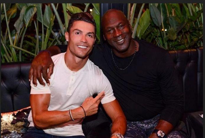 Grand fan de Michael Jordan, Cristiano Ronaldo le rejoint parmi les sportifs-milliardaires.