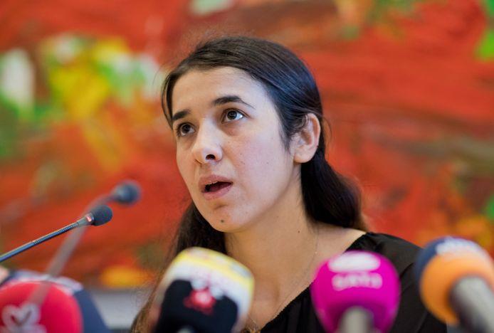 Yezidi Nadia Murad Bansee Taha overleefde haar gevangenschap bij IS en werd in 2016 door het VN-bureau voor drugs en criminaliteit (UNODC) benoemd tot Goodwill-ambassadeur voor de waardigheid van overlevenden van mensenhandel. Het was de eerste keer dat een overlevende van wreedheden deze eer te beurt viel.