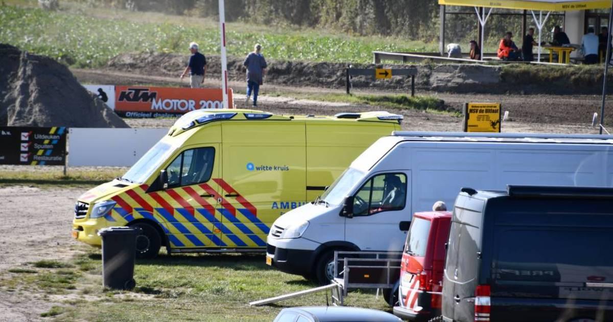 Ongeval op motorcrossterrein Ritthem.