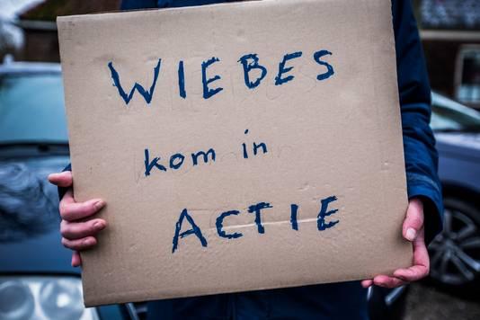 Protest in Zeerijp