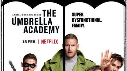 VIDEO. Netflix presenteert 'The Umbrella Academy', een superheldenreeks geschreven door een rockster