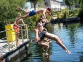 Verboden, gevaarlijk én toch blijft de Piushaven een lust voor zwemmer die 'per ongeluk' in het water valt