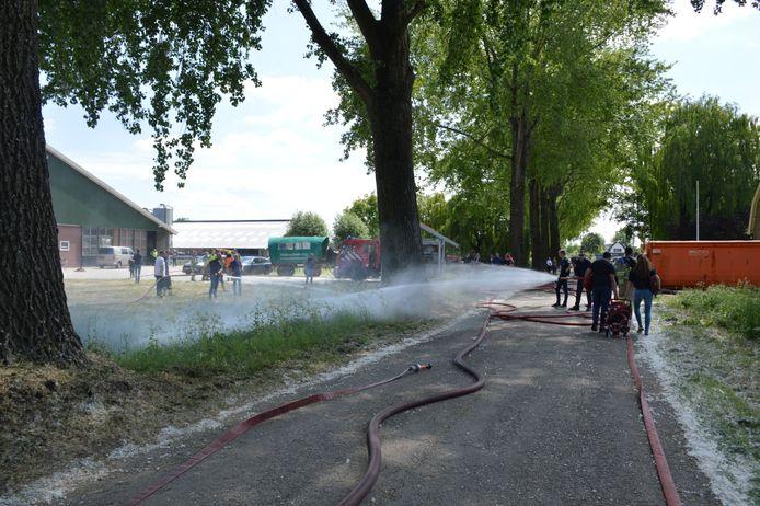 brand in Beuningen