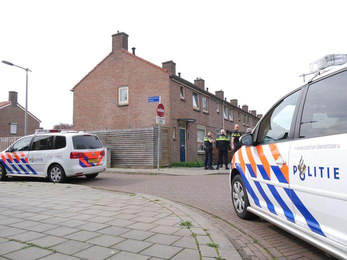 Politie ter plaatse.