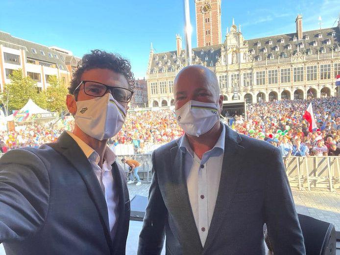 Johan Geleyns blikt tevreden terug op WK wielrennen in Leuven