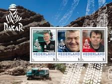 Dakar-winnaars op Nederlandse postzegel