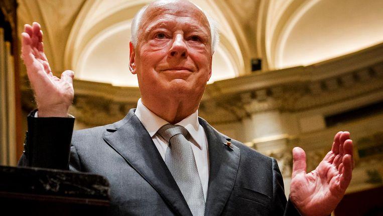 Bernard Haitink is een van de invallers voor Daniele Gatti bij het Concertgebouworkest Beeld ANP