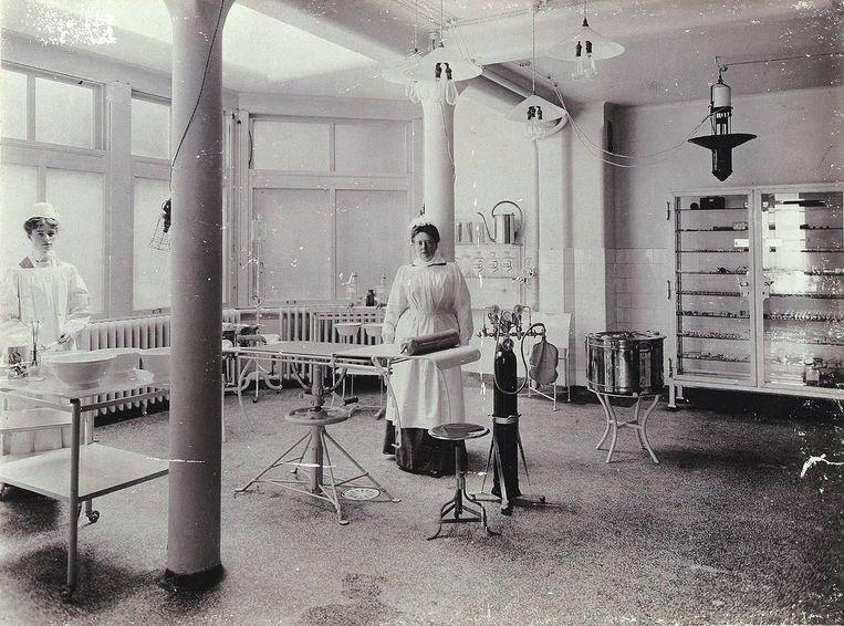 Vroegere operatiekamer van het Prinsengrachtziekenhuis Beeld -