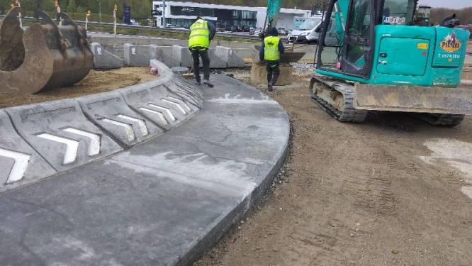 Nog twee maanden werk aan nieuwe rotondes Kampenhout-Sas