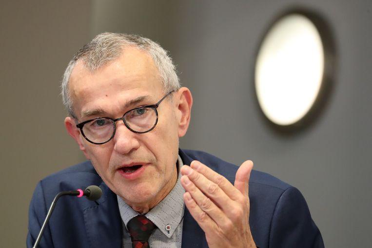 Minister van Volksgezondheid Frank Vandenbroucke (Vooruit). Beeld BELGA