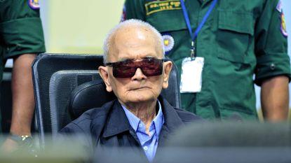 """Veroordeeld voor genocide: """"Levenslang"""" voor 87-jarige en 92-jarige leiders van Rode Khmer"""