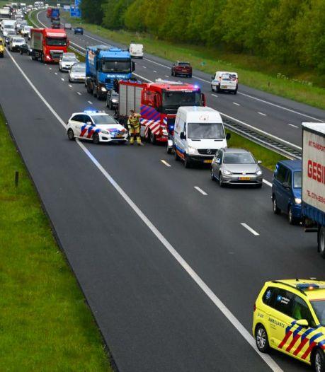 Ongeluk op A35 bij Enschede, weg weer vrijgegeven