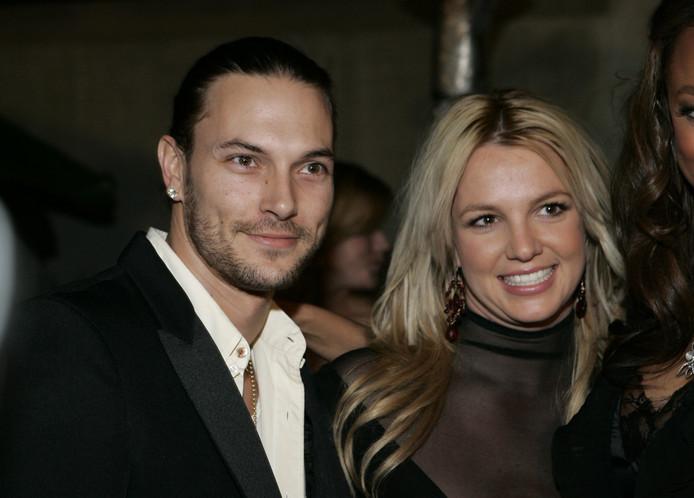 Kevin Federline en Britney Spears gaven elkaar in 2004 het jawoord.