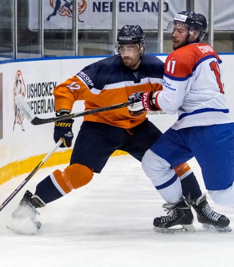 IJshockeyers Oranje ook te sterk voor Servië op WK in Tilburg