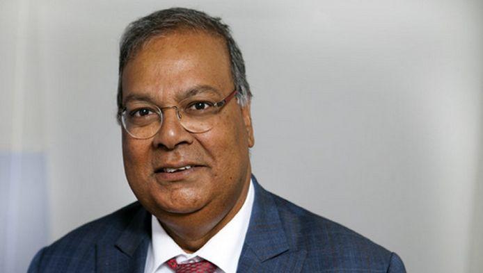 Wethouder Rabin Baldewsingh.