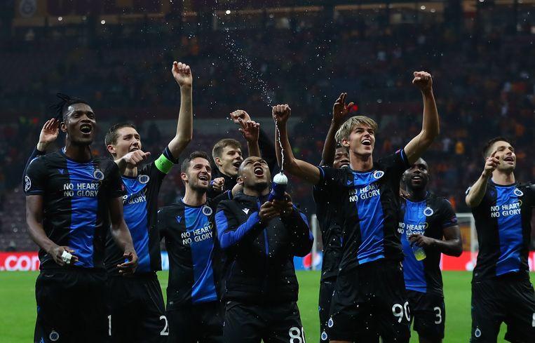 Club Brugge in de Champions League. Beeld EPA