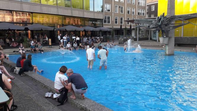 Nieuw leven voor AKU-fontein in Arnhem, met ondergrondse fietsenstalling