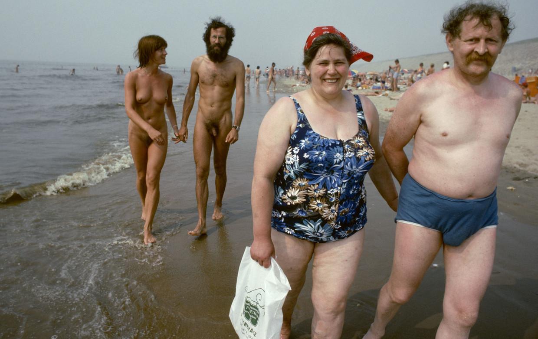 Het naaktstrand bij Zandvoort, 1975. Beeld Nederlands Fotomuseum / HH