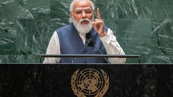 Indiase premier Narendra Modi gaat zelf naar klimaattop Glasgow