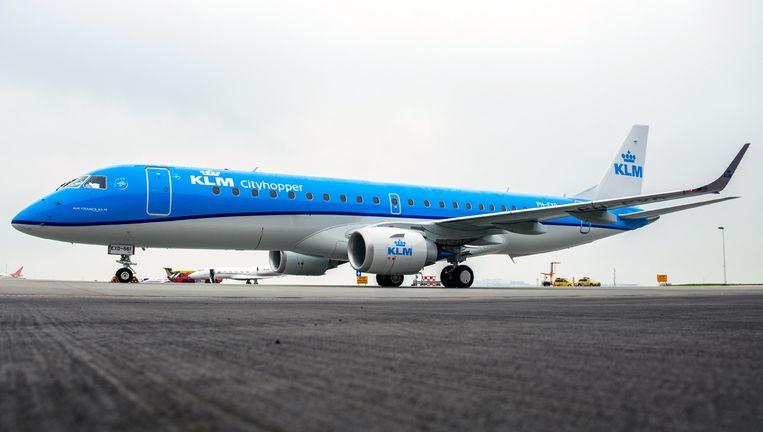De nieuwe Embraer. Beeld KLM