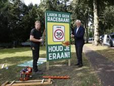 Gemeente Laren richt pijlen op snelheidsovertreders