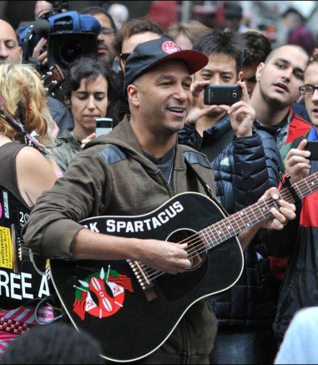 Tom Morello chante avec les manifestants de Wall Street (vidéo)