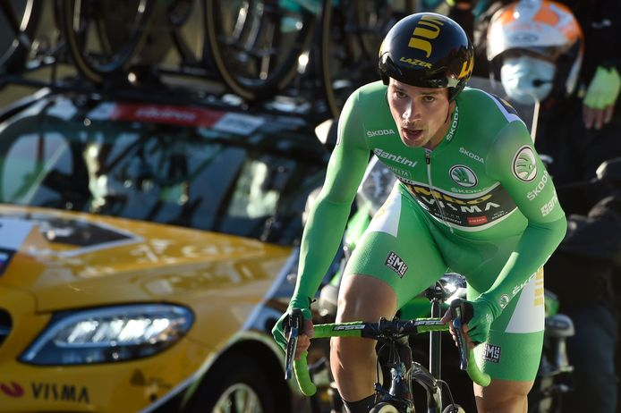 Primoz Roglic won afgelopen jaar de tijdrit en later ook de Vuelta.