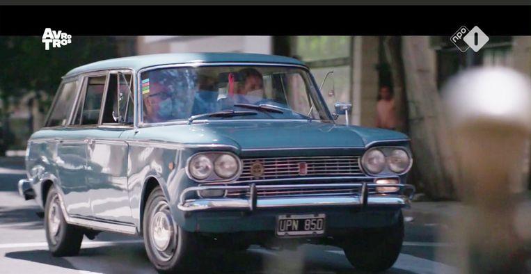 In zo'n auto kan Máxima hebben gereden, misschien wel van dezelfde kleur. Beeld -