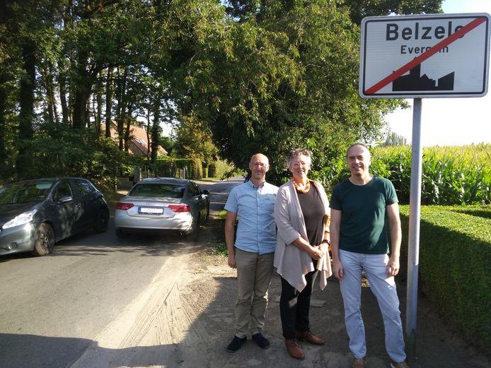 Groen Evergem wil een maximumsnelheid van 50 kilometer per uur in Overdam en Steenovenstraat in Belzele.