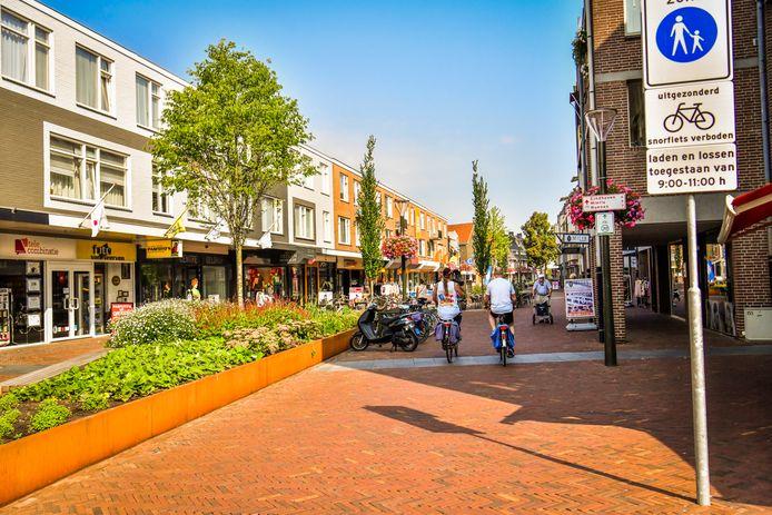 De Korte Kerkstraat is een voetgangersgebied.