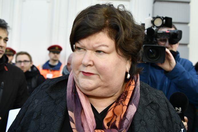 Minister van Asiel en Migratie Maggie De Block (Open Vld)