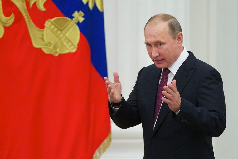 Ruslands president Vladimir Poetin Beeld afp