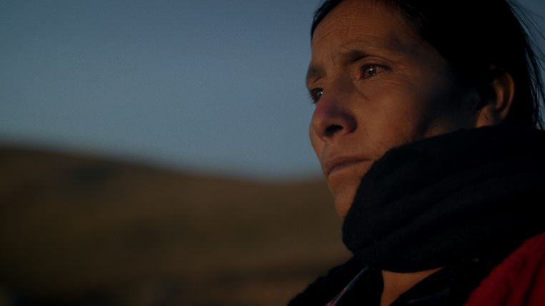 De Peruaanse schaapsherderin Máxima vecht tegen een mijnbouwbedrijf dat haar land wil afpakken. Beeld