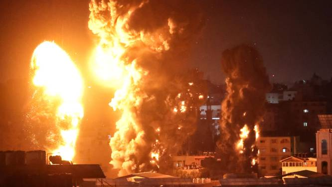 Opnieuw tientallen Israëlische luchtaanvallen op Gazastrook: 200 Palestijnen omgekomen op week tijd
