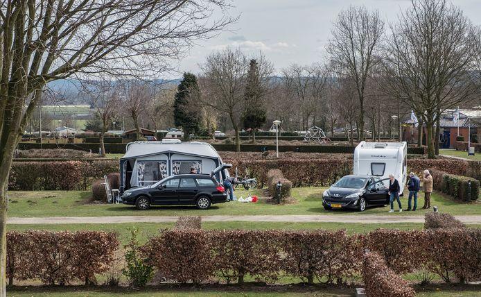Een camping in Groesbeek.