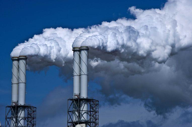 Een kolencentrale op de Maasvlakte.  Beeld ANP