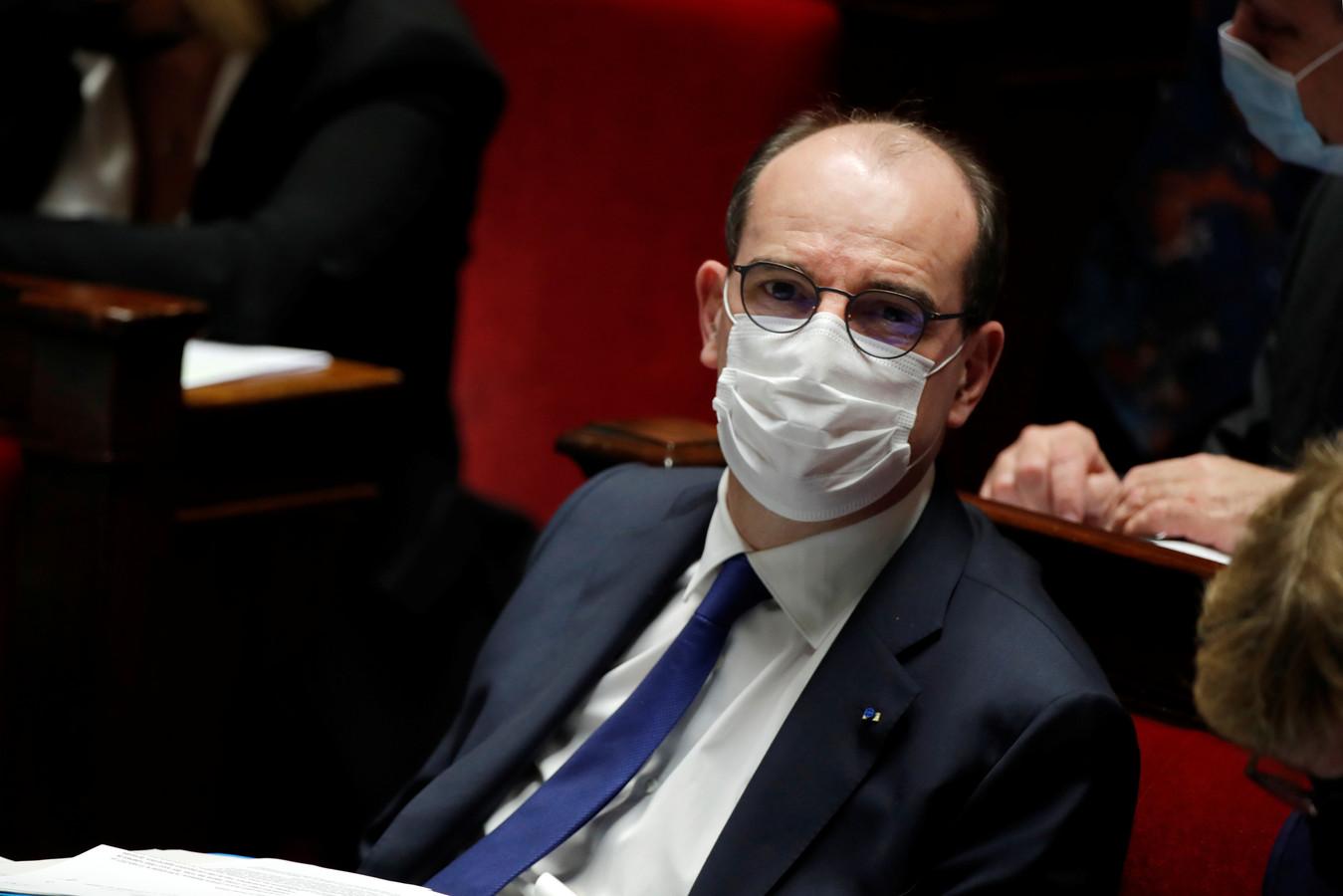 Le Premier ministre français Jean Castex.