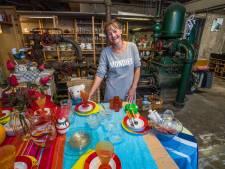 Het verhaal achter 'Het Ketelhuis' in Losser: 'Ik vind het heerlijk kringloopwinkels af te lopen'