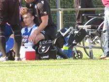 ESA-voetballer na zes maanden stilstand terug en 10 seconden later zwaar geblesseerd naar ziekenhuis
