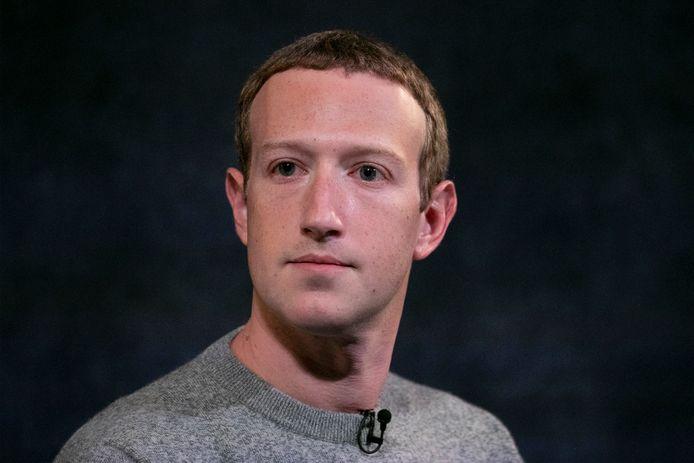 Facebook-oprichter Mark Zuckerberg