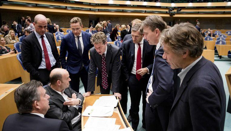 Het Oekraïnereferendum liep uit op een onverwachte afwijzing van de elite. Den Haag zit er nu mee Beeld anp