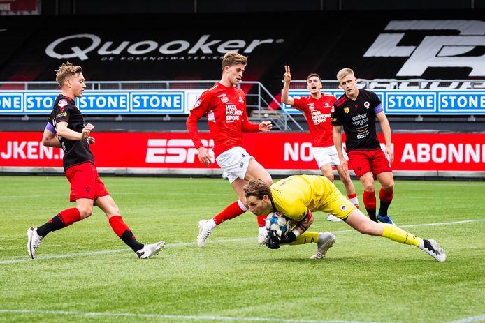 Helmond Sport zegevierde in Rotterdam.
