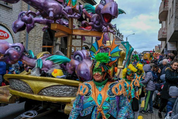 De carnavalstoet van Zaventem.