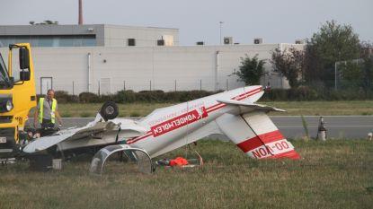 Sportvliegtuigje neergestort op luchthaven Wevelgem: piloot overleden