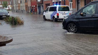 Tiental oproepen voor wateroverlast, Lispersteenweg zat alweer met natte voeten
