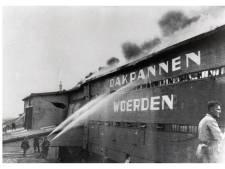 De brand bij de Woerdense Dakpannen en Steenfabrieken in 1954